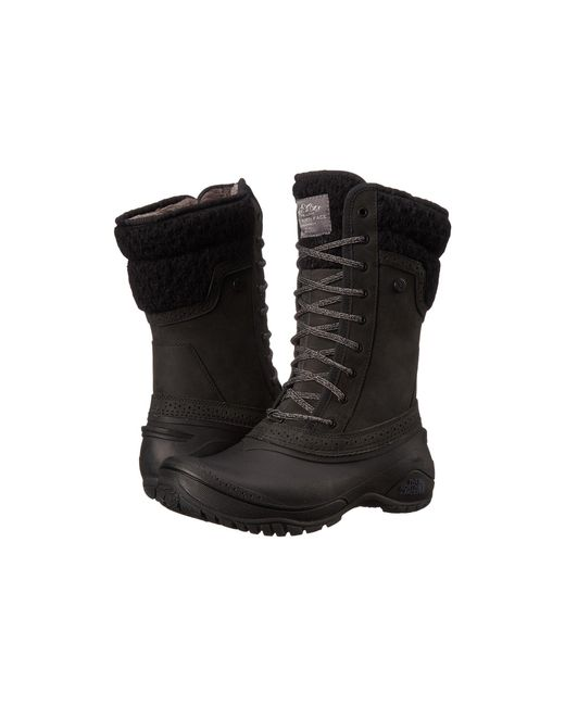 The North Face - Black Shellista Ii Mid - Lyst