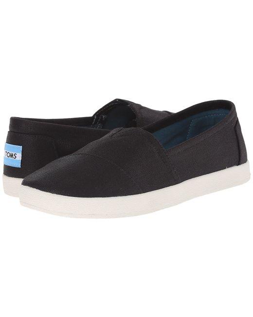 TOMS - Black Avalon Sneaker - Lyst