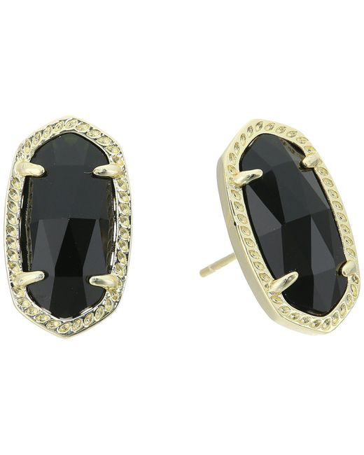 Kendra Scott - Multicolor Ellie Earring (gold Iridescent Drusy) Earring - Lyst