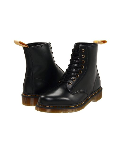 Dr. Martens Black 1460 Vegan 8-eye Boot