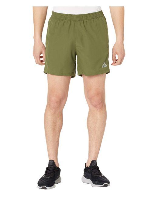Adidas Green Run It 5 Shorts Clothing for men