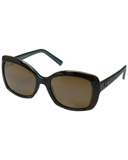 Maui Jim - Brown Orchid (tortoise/peacock/hcl Bronze) Polarized Fashion Sunglasses - Lyst