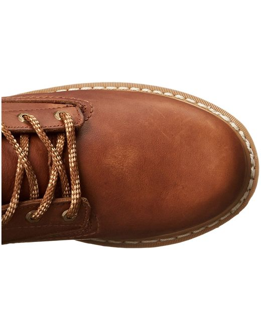 Georgia Boot Brown Wedge 8 Lace Up for men