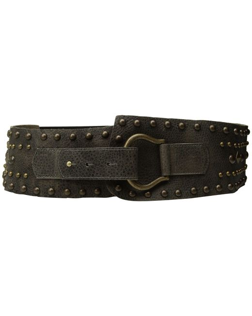 Leatherock - Gray Jett Belt (grey) Women's Belts - Lyst