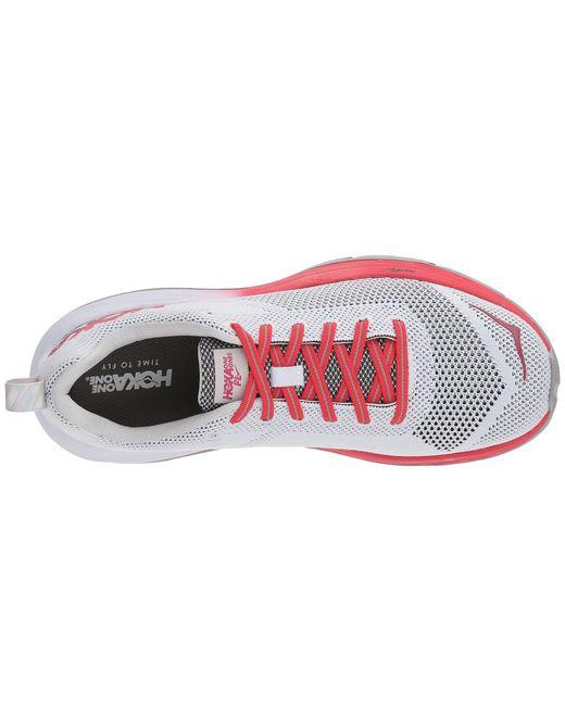 5402f9967255 ... Hoka One One - Multicolor Mach (hibiscus cherries Jubilee) Women s  Running Shoes ...