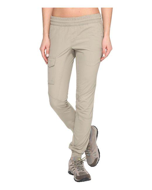 Columbia - Multicolor Silver Ridge Pull On Pants (tusk) Women's Casual Pants - Lyst