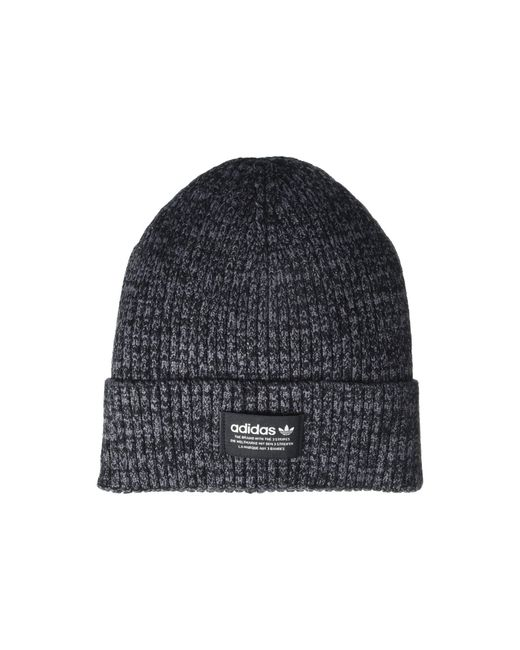 Adidas Originals Black Originals 3x1 Rib Beanie