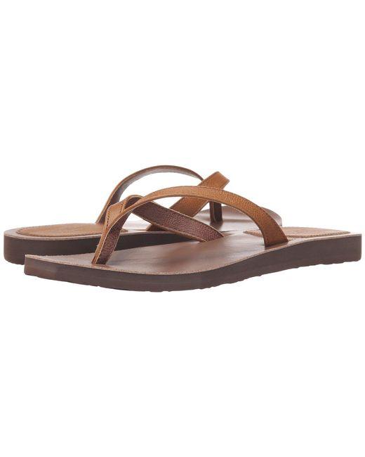 Scott Hawaii - Brown Mohala (tan) Women's Sandals - Lyst