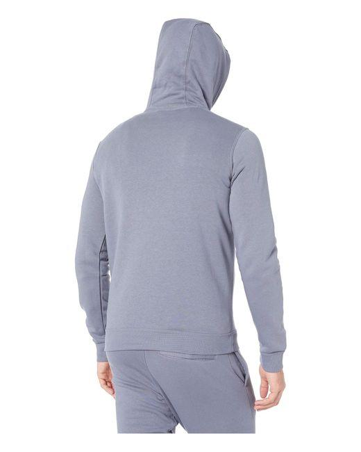 8f7c353bde7e ... Nike - Blue Club Fleece Pullover Hoodie (black black white) Men s  Fleece ...