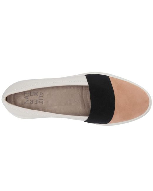 2817558abdb ... Naturalizer - Multicolor Yuri (alabaster Pebble Leather) Women s Slip On  Shoes ...