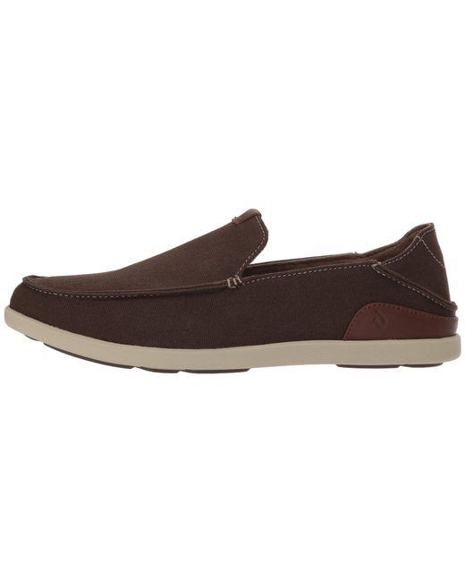 a810e0a5eac1 ... Olukai - Brown Manoa Slip-on (clay toffee) Men s Slip On Shoes ...