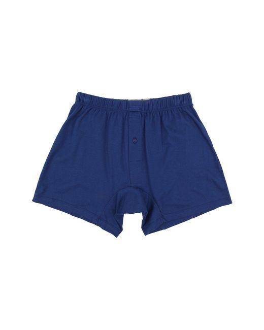 2xist | Blue Pima Knit Boxer for Men | Lyst