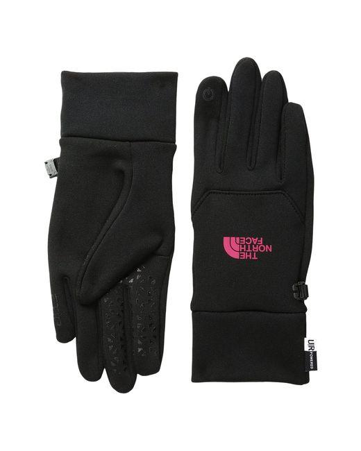 The North Face - Black Etip Gloves - Lyst