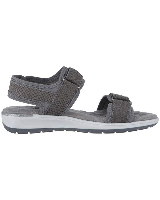 c29347d31371 ... Walking Cradles - Shea (slate Gray Lycra matte Snake Print) Women s  Sandals ...