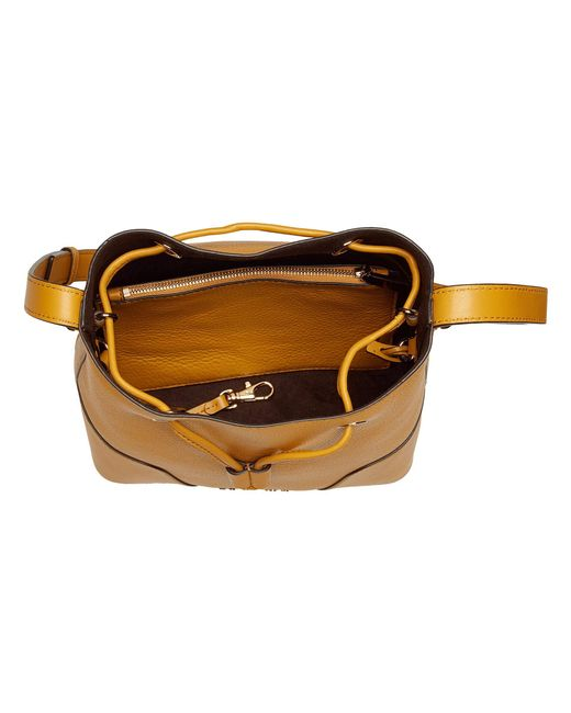 eabb61b11905 ... MICHAEL Michael Kors - Yellow Cary Small Bucket Bag (marigold) Bags -  Lyst ...