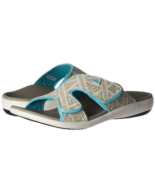 Spenco - Blue Kholo Slide (black) Women's Slide Shoes - Lyst