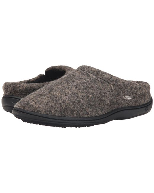 Acorn - Gray Digby Gore (greige Heather) Men's Slippers for Men - Lyst