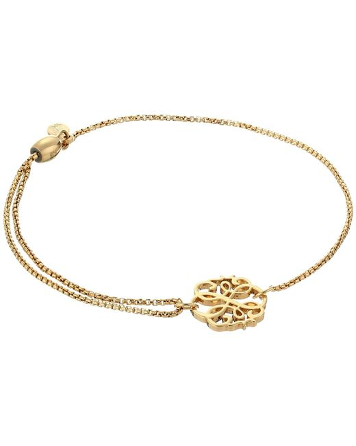 ALEX AND ANI - Metallic Precious Ii Collection Path Of Life Adjustable Bracelet (gold Plated Finish) Bracelet - Lyst