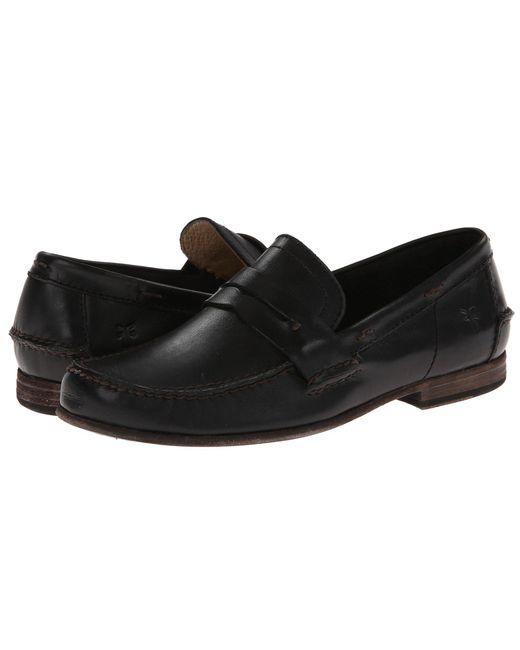 Frye - Black Lewis Leather Penny for Men - Lyst