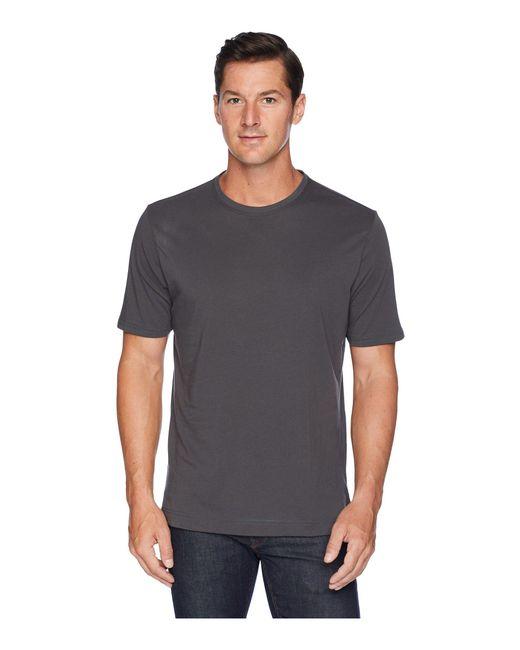 Robert Graham - Gray Neo Knit Crew T-shirt (navy) Men's Clothing for Men - Lyst