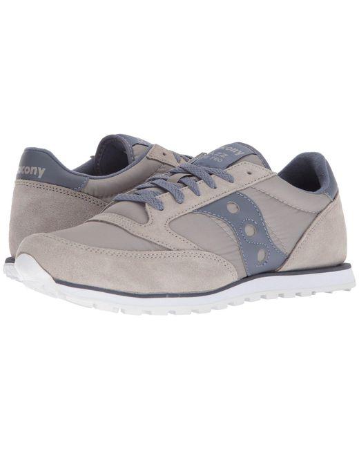 Saucony - Jazz Low Pro (black/dark Gray/red) Men's Classic Shoes for Men - Lyst