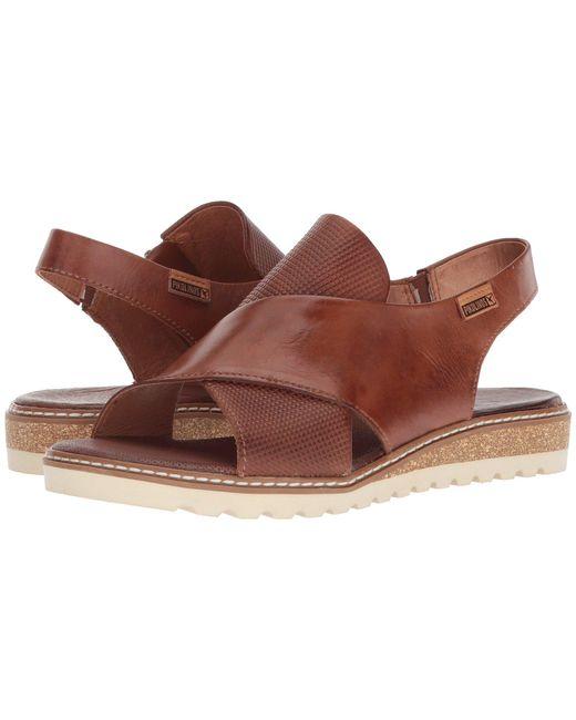 Pikolinos - Brown Alcudia W1l-0502 (cuero) Women's Sling Back Shoes - Lyst