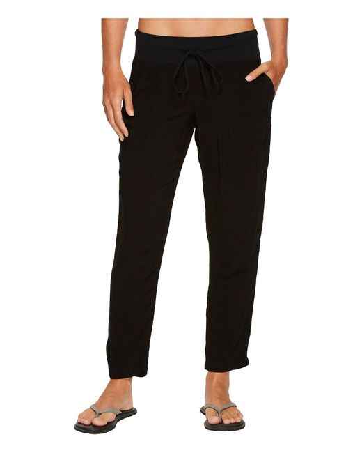 Hard Tail - Black Crop Pants (lizard Ombre 1) Women's Casual Pants - Lyst