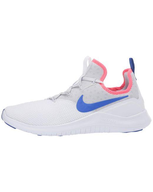 ced6842d0a5e ... Lyst Nike - Free Tr 8 (black white) Women s Cross Training Shoes ...