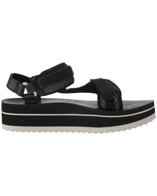 dc42509d1d5f Lyst - Teva Flatform Universal Luxe (black) Women s Shoes in Black