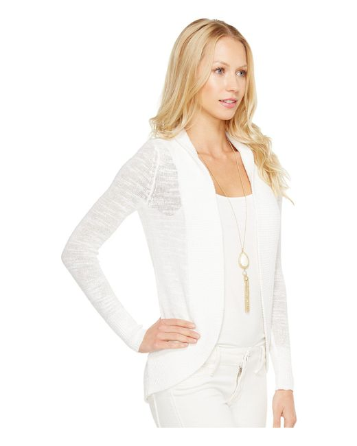 ... Lilly Pulitzer - White Amalie Cardigan (true Navy) Women s Sweater ... 009a3b049
