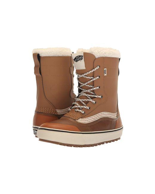 Vans Brown Standardtm Snow Boot '18 for men