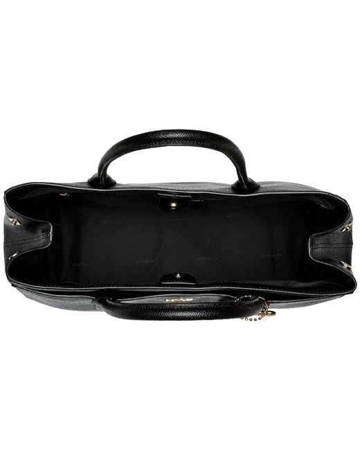 cf74e0ea1d7d ... violet c690c a3330 wholesale coach bailey carryall in crossgrain leather  li black handbags lyst 55334 0f81f ...