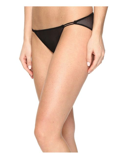 Only Hearts - Tulle String Bikini (black) Women's Underwear - Lyst