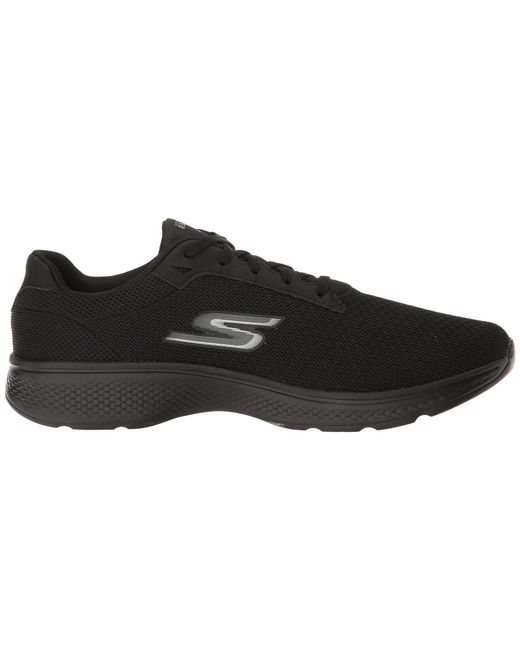 newest collection b79ed 74d36 ... Skechers - Go Walk 4 - Noble (black 2) Men s Walking Shoes for Men ...