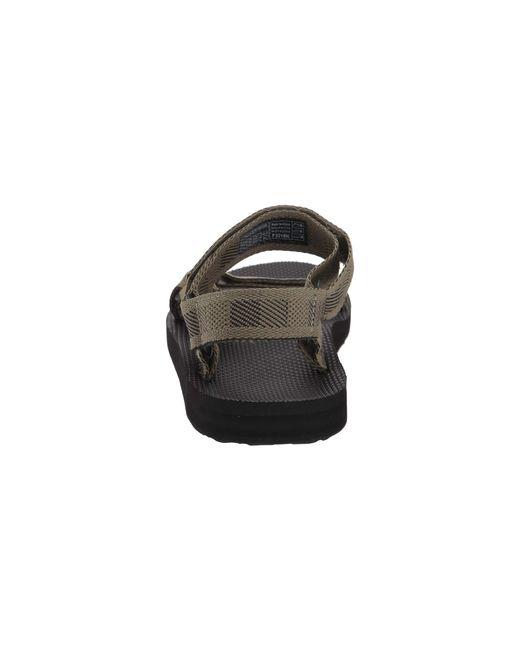 6b0ea17fb ... Teva - Multicolor Original Universal (boomerang Black white) Men s  Sandals for Men ...