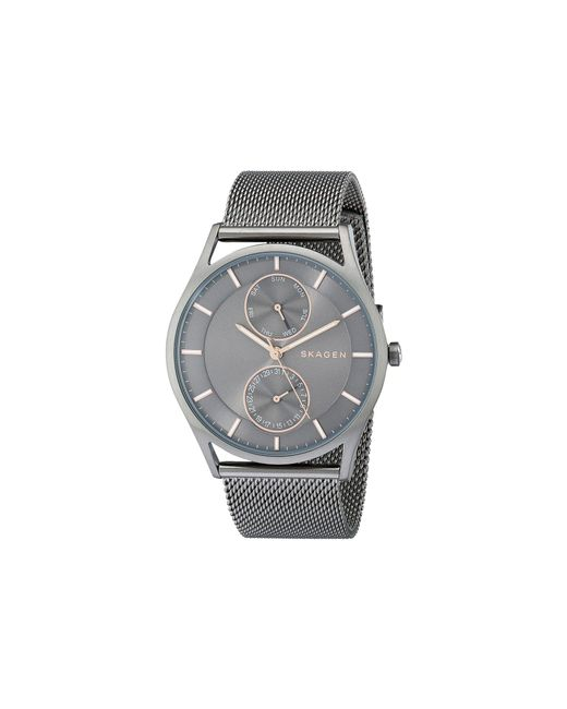 Skagen - Metallic Holst Skw6180 (gunmetal) Watches - Lyst