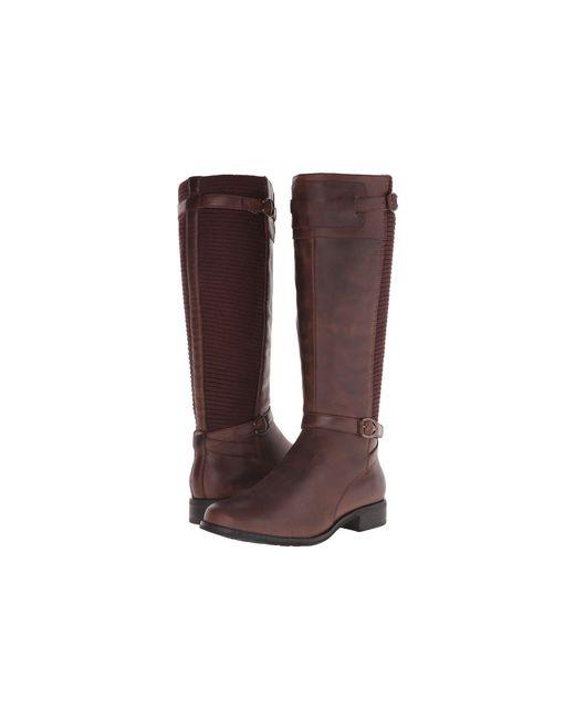 Aetrex - Brown Essencetm Chelsea (black Suede) Women's Boots - Lyst