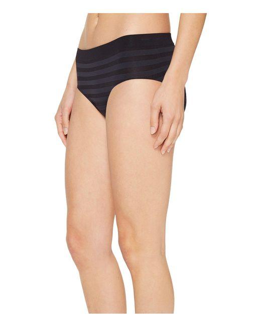e239fb5aec4 ... Jockey - Comfies(r) Matte Shine Hipster (black) Women s Underwear ...