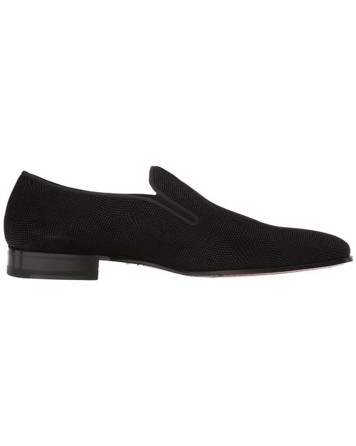 0934446479a Lyst - Mezlan Crespi (black) Men s Slip-on Dress Shoes in Black for Men