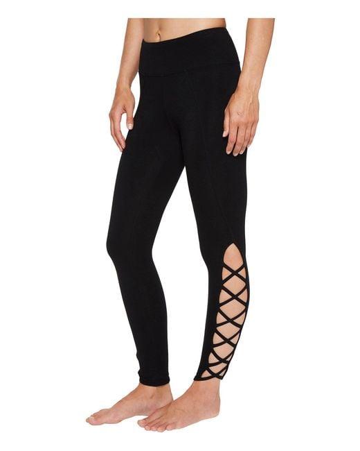 Hard Tail - X-side Ankle Leggings (black) Women's Casual Pants - Lyst