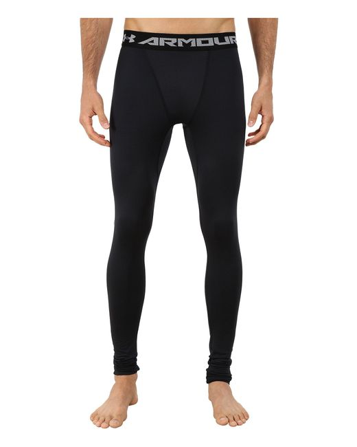 Under Armour - Black Ua Coldgear® Armour® Compression Legging for Men - Lyst