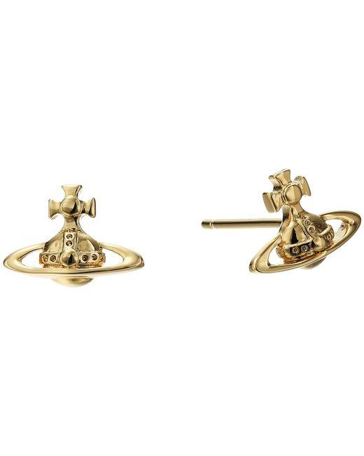 Vivienne Westwood - Metallic Lorelei Stud Earrings - Lyst