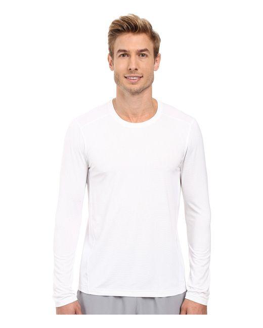 Adidas | Black Climacool Single Long Sleeve Crew for Men | Lyst