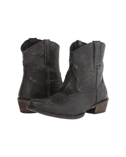 Roper - Dusty (black) Cowboy Boots - Lyst