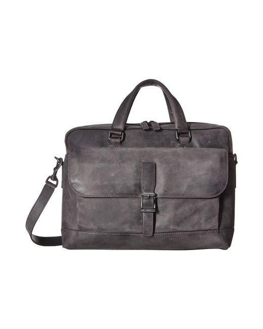 Frye - Black Oliver 2 Handle (cognac Soft Tumbled Full Grain) Top-handle Handbags for Men - Lyst