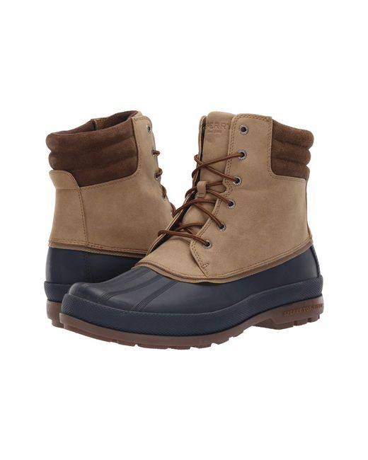 Sperry Top-Sider Brown Cold Bay Duck Boot for men