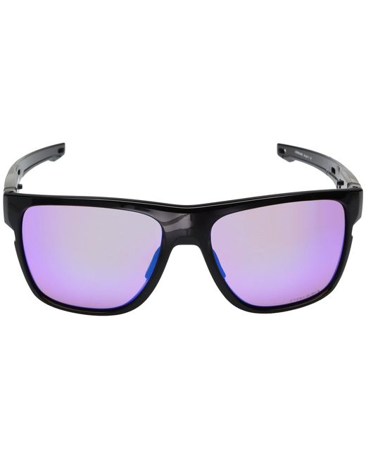 b183b8dce26d3 ... Oakley - Crossrange Xl (black Ink W  Prizm Road) Fashion Sunglasses -  Lyst ...