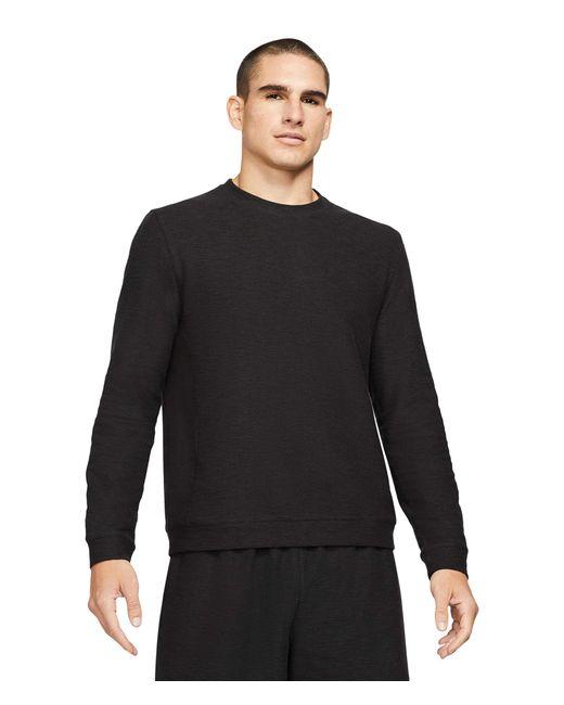 Nike Black Dry Fleece Core Yoga Clothing for men