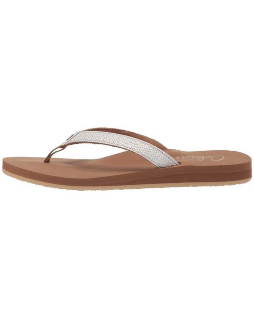 a8d828dcb8e82 Lyst - Cobian Fiesta Skinny Bounce (tan) Women s Sandals in White