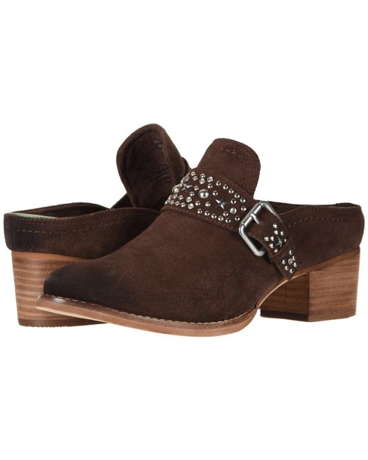 Earth - Brown Denton (bark Suede) Women's Shoes - Lyst